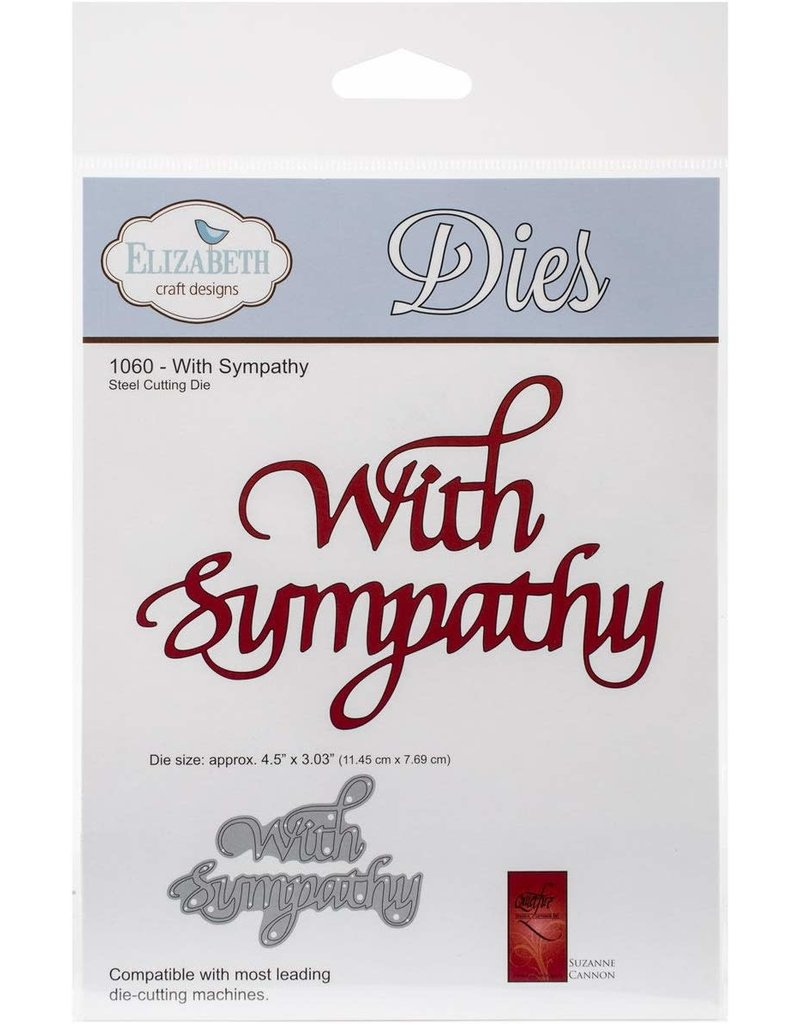 Elizabeth Craft Designs With Sympathy - Die