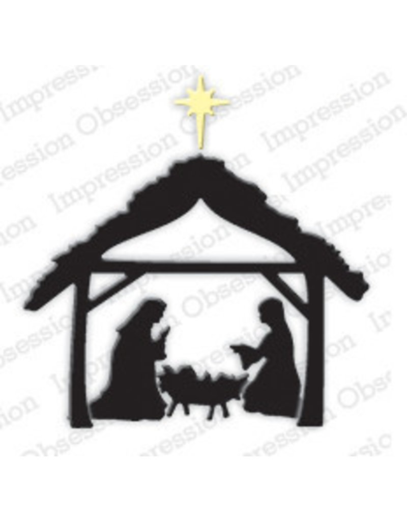 Impression Obsession Small Manger - Die