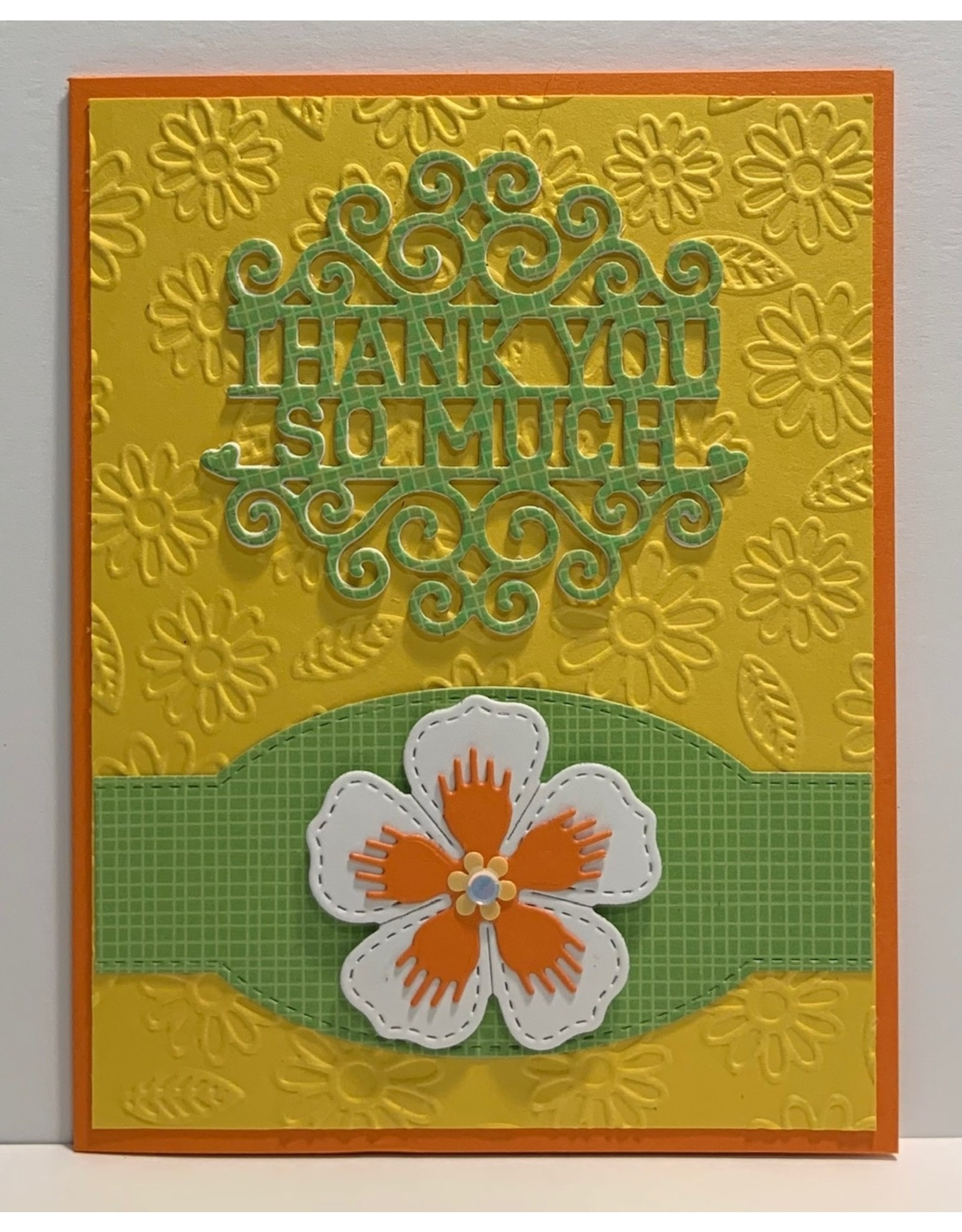 Daisy Garden - Embossing Folder