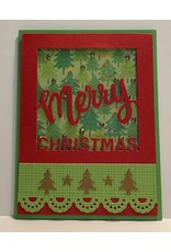 Poppystamps, Inc. Christmas Frame - Die (60%)