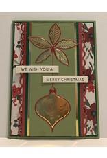 Memory Box Poinsettia Ornament - Die (40%)