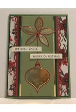Memory Box Poinsettia Ornament - Die (RETIRED) (25%)