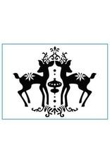 Nellie's Choice Elk - Embossing Folder (30%)
