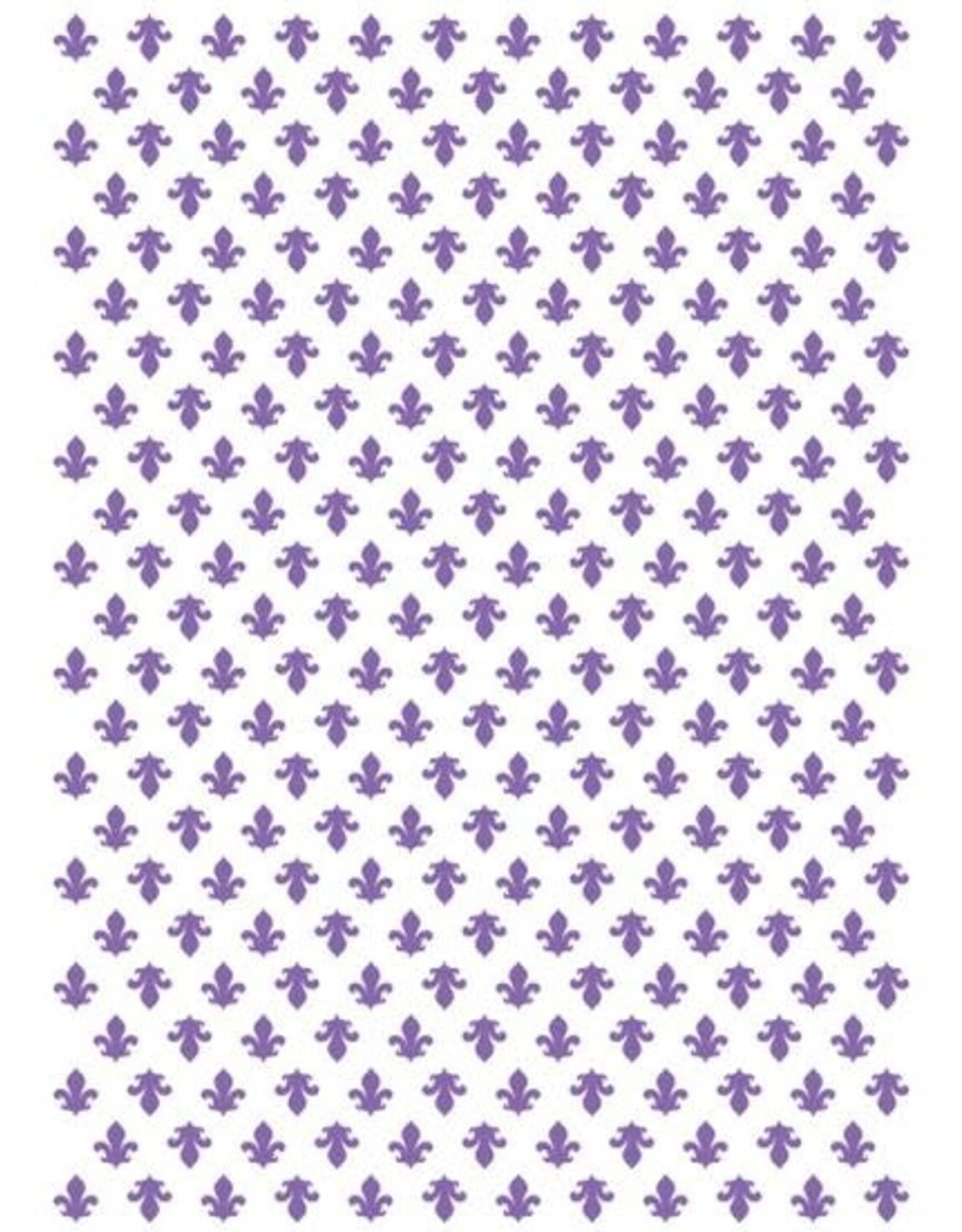 Couture Creations Fleur De Lis - Embossing Folder