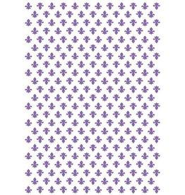 Couture Creations Fleur De Lis - Embossing Folder (30%)