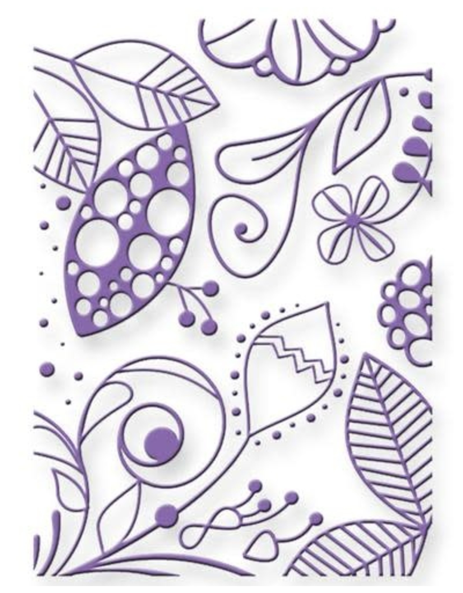 Couture Creations Fubu - Embossing Folder