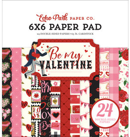 Echo Park Be My Valentine - 6x6 Paper Pad