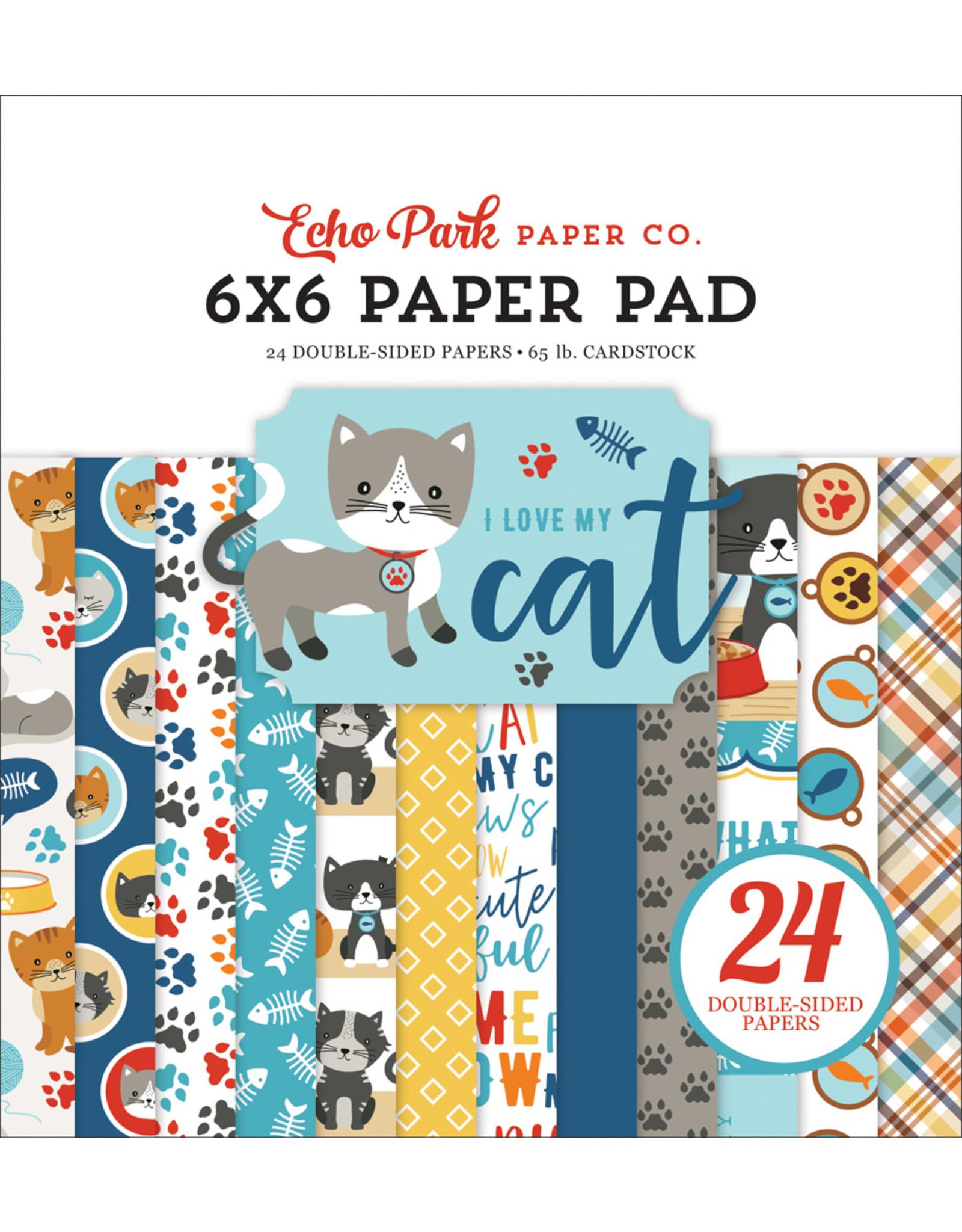 Echo Park I Love My Cat - 6x6 Paper Pad