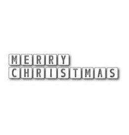 Memory Box Merry Christmas Tiles (40%)
