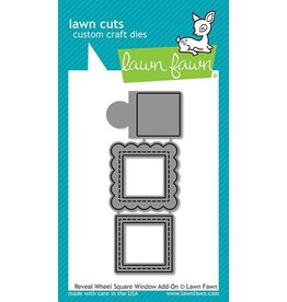 Lawn Fawn Reveal Wheel Square Window - Add-on Die