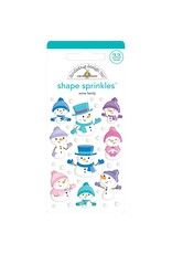 Doodlebug Design Inc. Snow Family - Shape Sprinkles