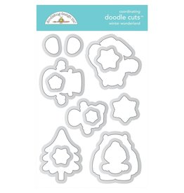 Doodlebug Design Inc. Winter Wonderland - Doodle Cuts