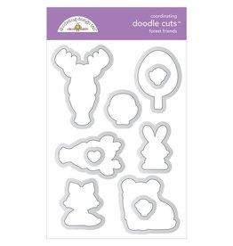 Doodlebug Design Inc. Forest Friends - Die Cut Set