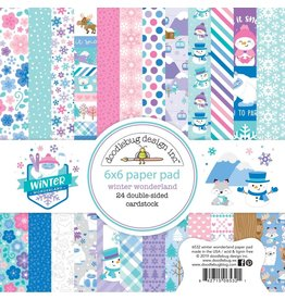 Doodlebug Design Inc. Winter Wonderland - 6x6 Paper Pad