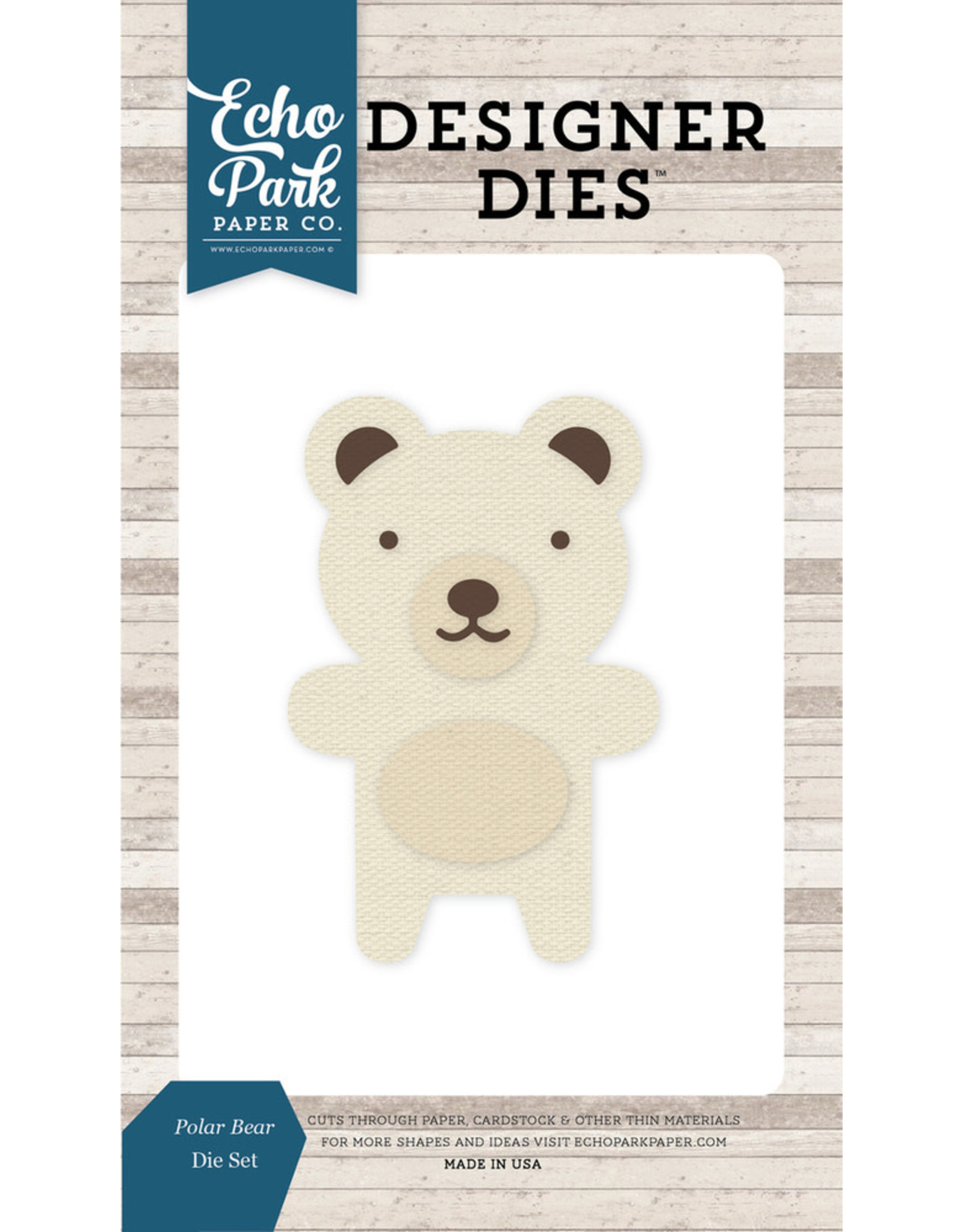 Echo Park Polar Bear - Die Set