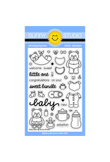 Sunny Studio Baby Bear - Clear Stamp Set