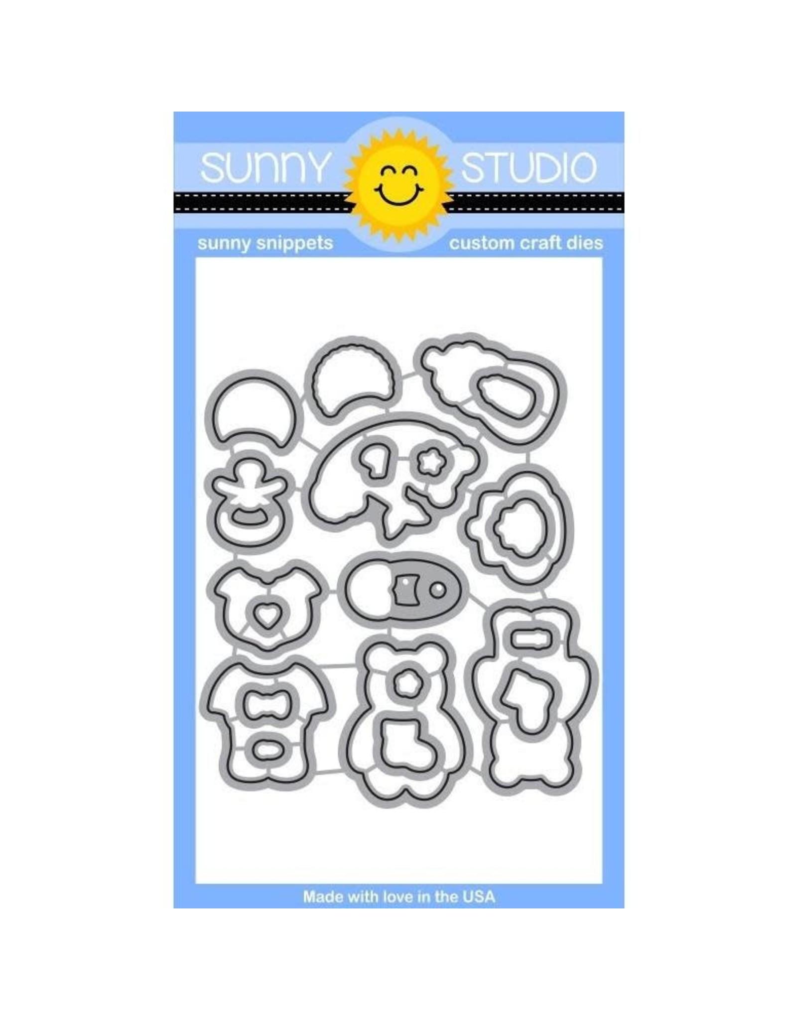 Sunny Studio Baby Bear - Die Set