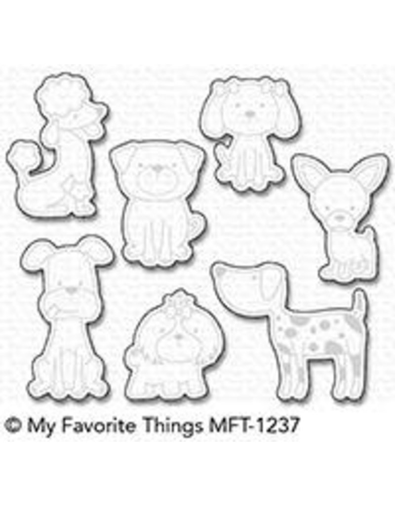 My Favorite Things Canine Companions - Die Set