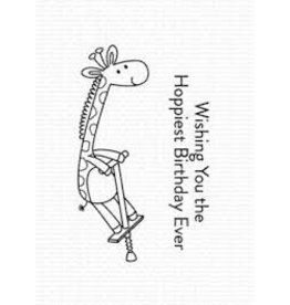 My Favorite Things Jumping Giraffe - Clear Stamp Set