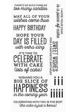My Favorite Things Big Birthday Sentiments - Clear Stamp Set