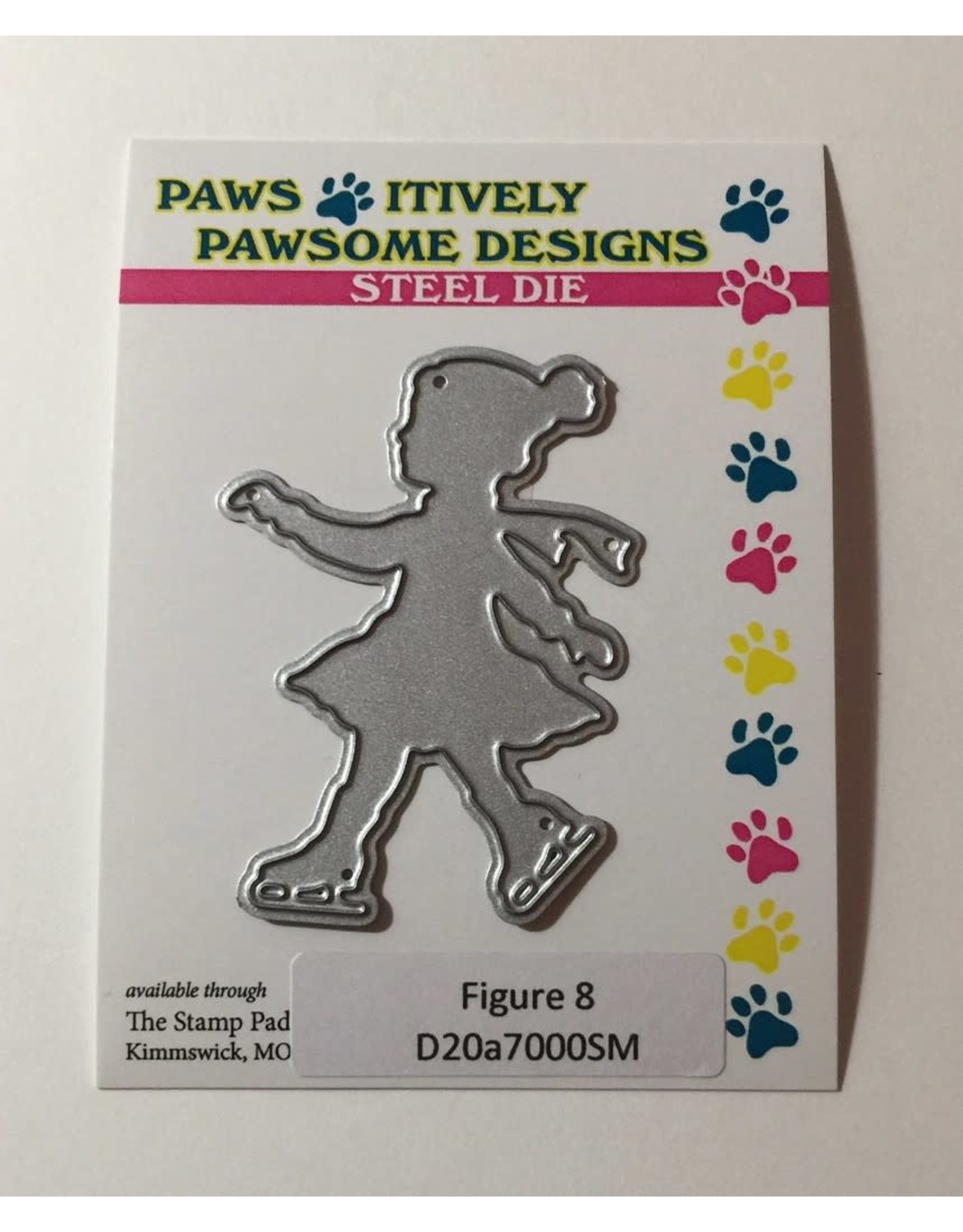 Paws-Itively Pawsome Designs Figure 8 Die