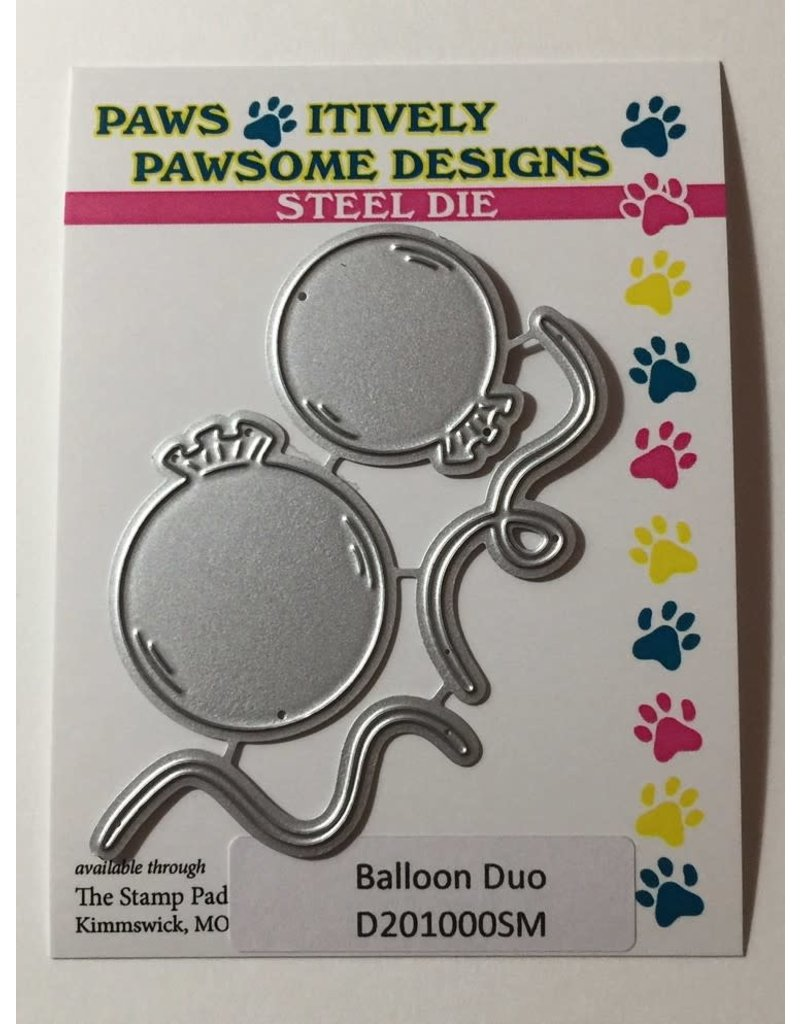 Paws-Itively Pawsome Designs Balloon Duo - Die