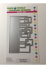 Paws-Itively Pawsome Designs Rectangle Fun Die