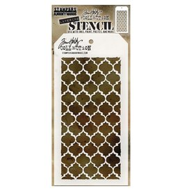 Stampers Anonymous Layering Stencil - Trellis