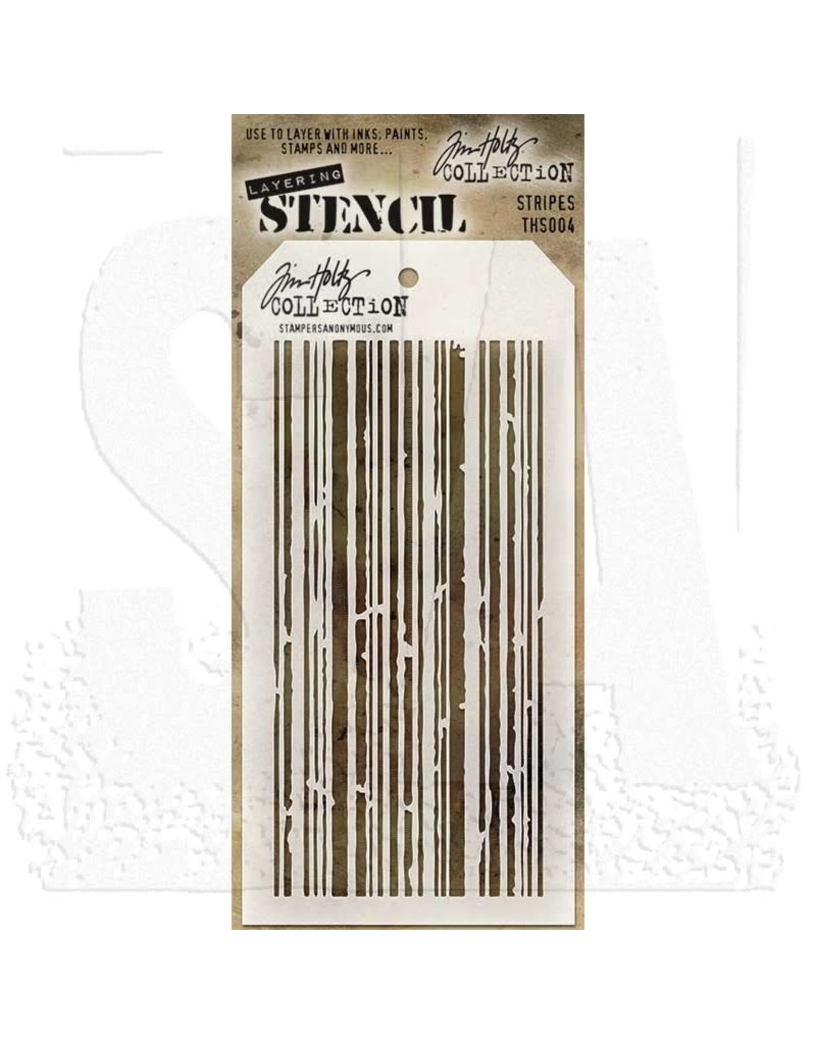 Stampers Anonymous Stripes - Layering Stencil