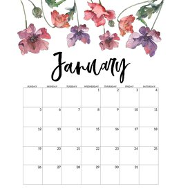 FLOWER-A-MONTH with Tracey - January (for Dec.)
