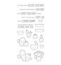 My Favorite Things Let's Stick Together - Clear Stamp Set