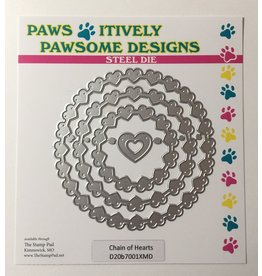 Paws-Itively Pawsome Designs Chain of Hearts