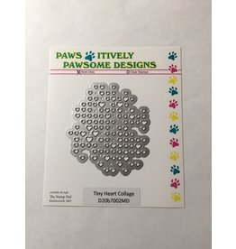 Paws-Itively Pawsome Designs Tiny Heart Collage