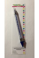 Paws-Itively Pawsome Designs Jewel Pick-Up Pen - Blue