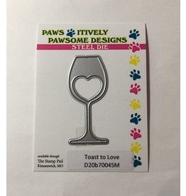 Paws-Itively Pawsome Designs Toast to Love - Die