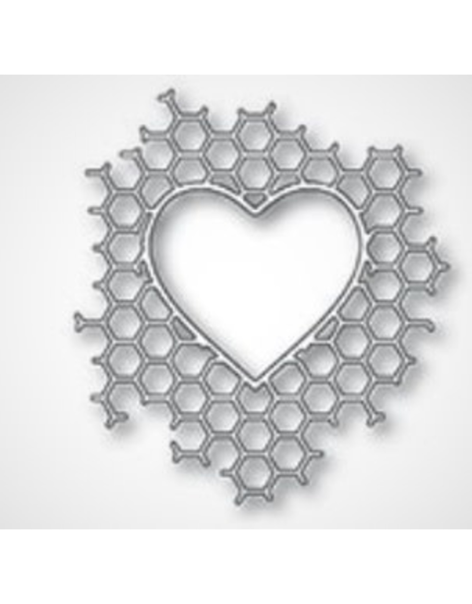 Memory Box Honeycomb Heart - Die