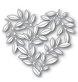 Memory Box Leafy Heart