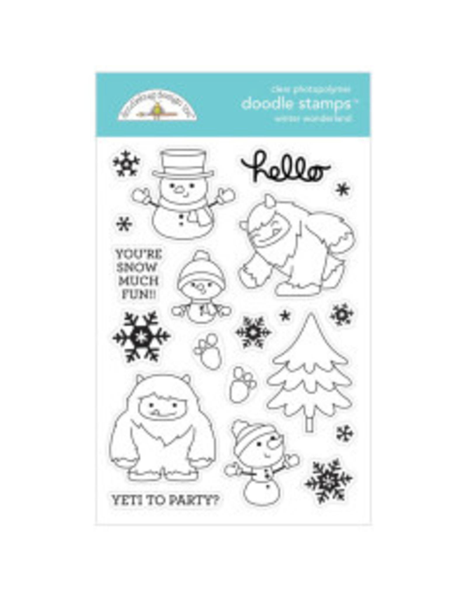 Doodlebug Design Inc. Winter Wonderland - Die Set