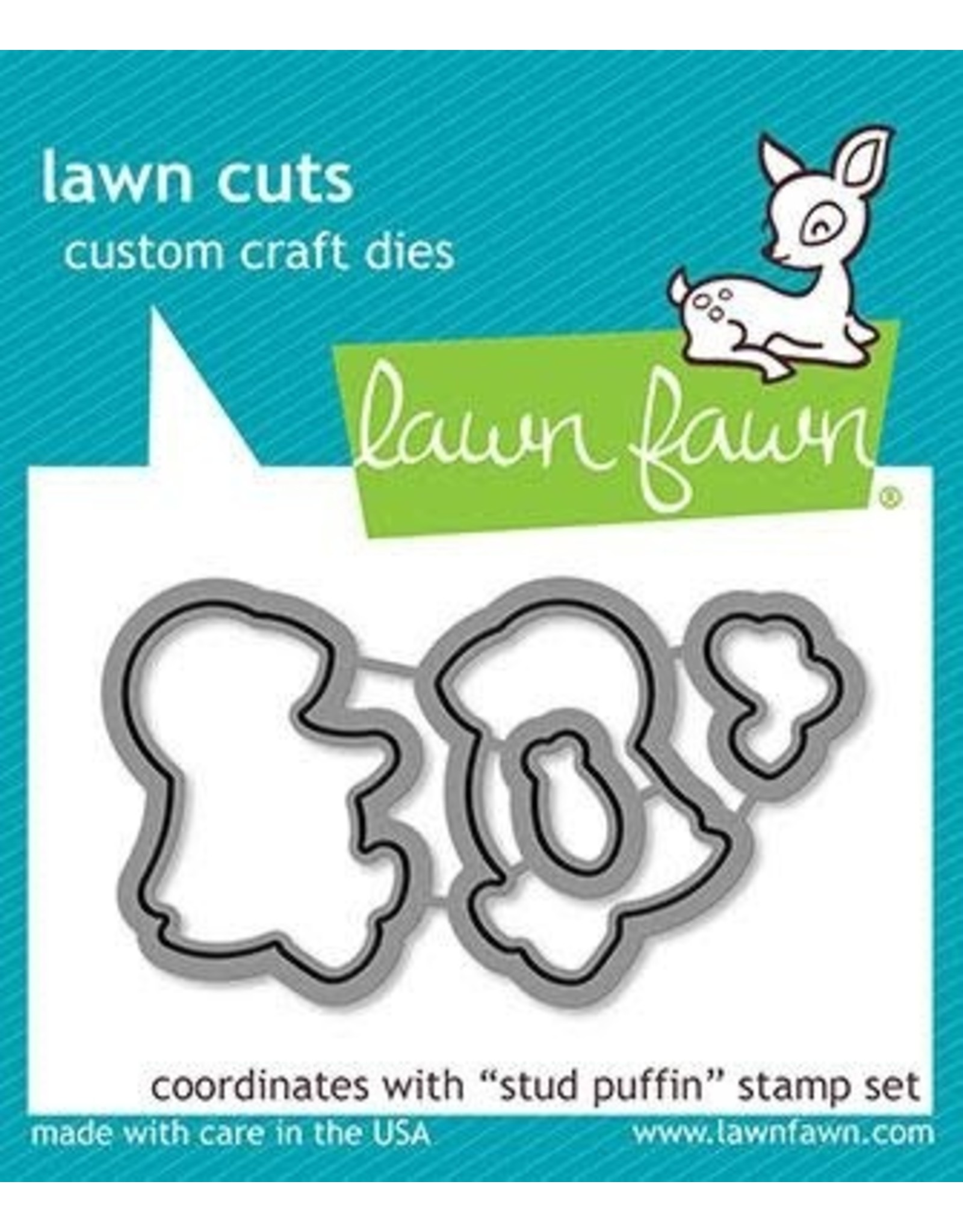 Lawn Fawn Stud Puffin - Clear Stamp Set