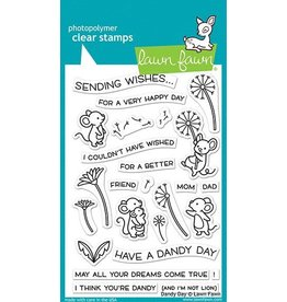 Lawn Fawn Dandy Day - Clear Stamp Set