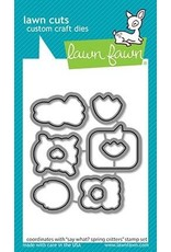 Lawn Fawn Say What? Spring Critters - Clear Stamp Set