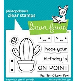 Lawn Fawn Year Ten - Clear Stamp Set