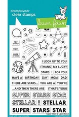 Lawn Fawn Super Star - Clear Stamp Set