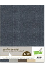Lawn Fawn Neutrals - Shimmer Cardstock