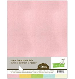 Lawn Fawn Pastel - Shimmer Cardstock