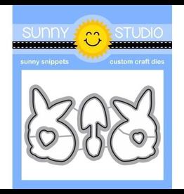 Sunny Studio Spring Greetings - Die Set