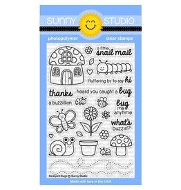 Sunny Studio Backyard Bugs - Clear Stamp Set