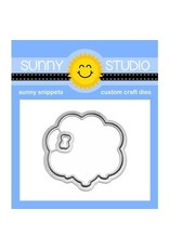 Sunny Studio Floating By Clear Stamp Set