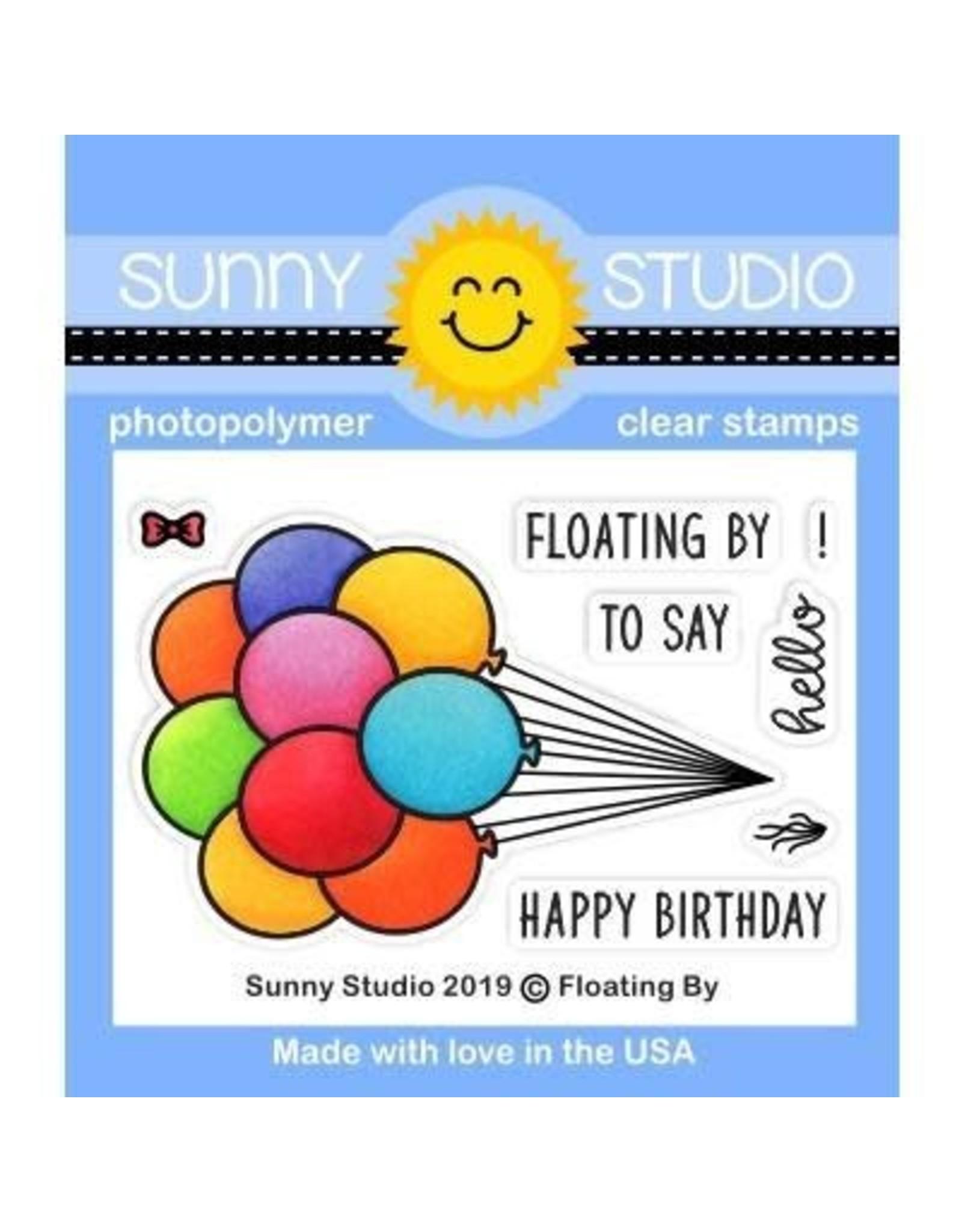 Sunny Studio Floating By - Die Set