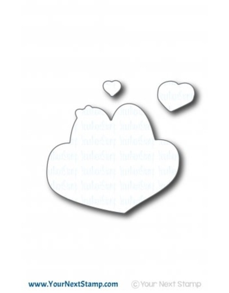 Your Next Stamp Penguin Love Clear Stamp Set